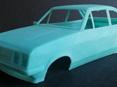 RMK 3D Printed Resin 1/25 Mk2 Escort RS2000 Body - Premium Blue