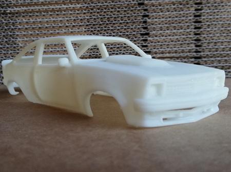 RMK 3D Printed Resin 1/32 1977 Holden Torana A9X Body - Premium White