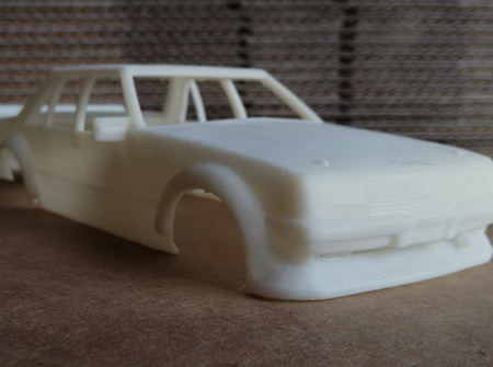 RMK 3D Printed Resin 1/32 1981 'Tru Blu' Falcon Body - Premium White
