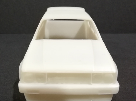 RMK 3D Printed Resin 1/32 KE70 Twin Light Corolla Wagon Wide Body - Premium White