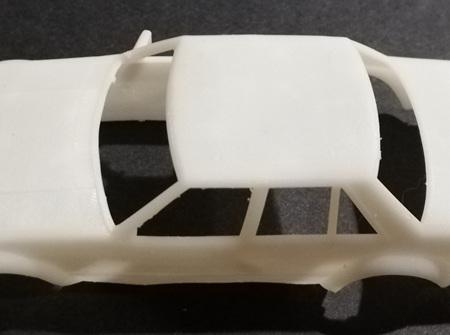 RMK 3D Printed Resin 1/64 1981 'Tru Blu' Falcon Body - Premium White