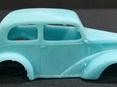 RMK 3D Printed Resin 1/64 Anglia Gasser Race Body - Premium Blue