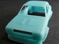 RMK 3D Printed Resin 1/64 Mazda RX2 Coupe Race Body - Premium Blue