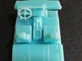 RMK 3D Printed Resin 1/64 Mazda RX2 Interior/Chassis - Premium Blue