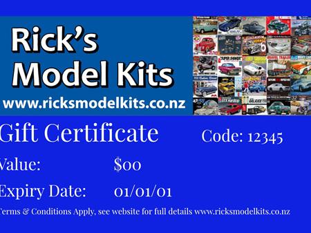 RMK Gift Certificate