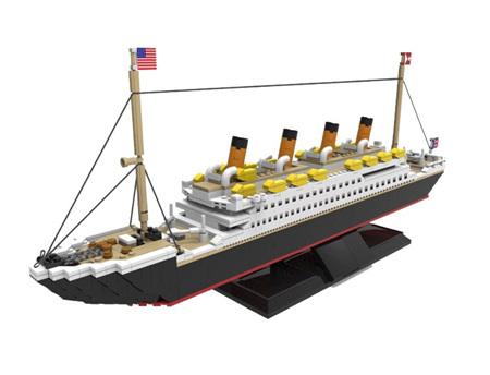 RMS Titanic 1088 Pieces