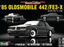 Revell 1/25 85 Oldsmobile 442