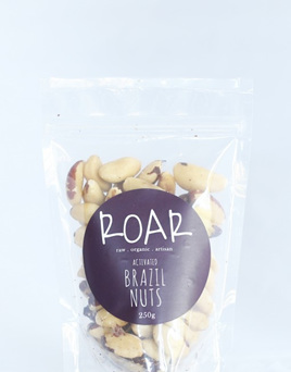 ROAR Activated Brazil Nuts Raw Organic