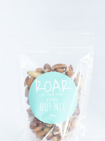 ROAR Activated Nut Mix Raw Organic