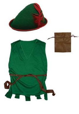 Robin Hood Dress Up 3 piece set