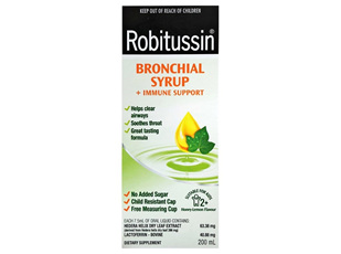 ROBITUSSIN BRONCHIAL SYRUP 200ML (E)