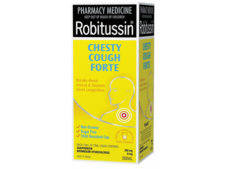 ROBITUSSIN Chesty Cough Forte 200ml