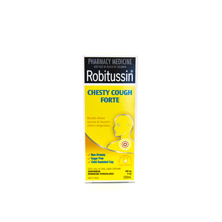 Robitussin Chesty Cough Forte