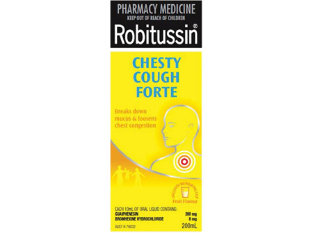Robitussin Chesty Cough Forte Cough Liquid 200ml