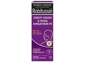 Robitussin Chesty Cough & Nasal Congestion PE