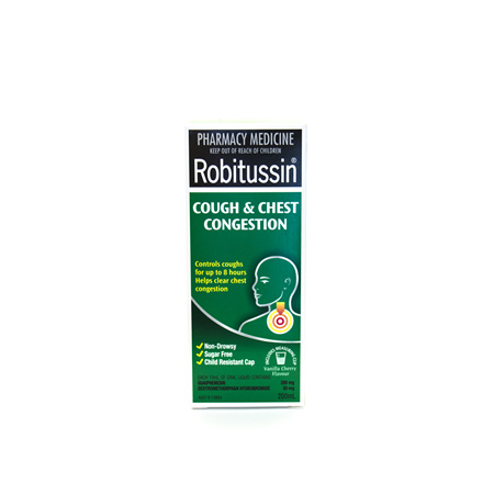 Robitussin Cough & Chest Congestion