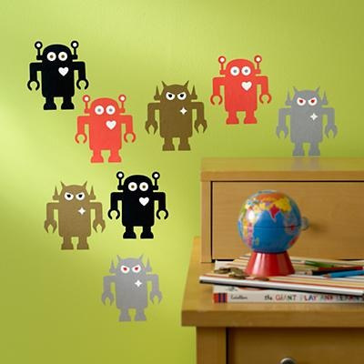 Giant Robots Wall Decals