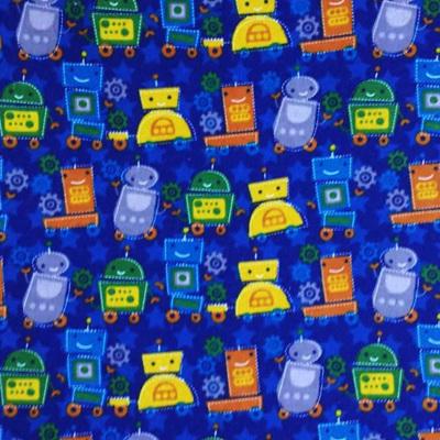 Robots Flannelette
