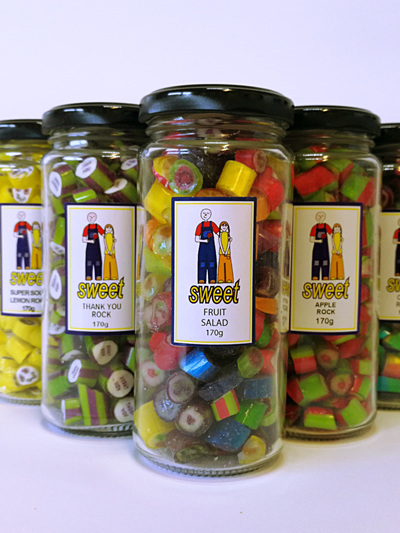 ROCK CANDY JARS