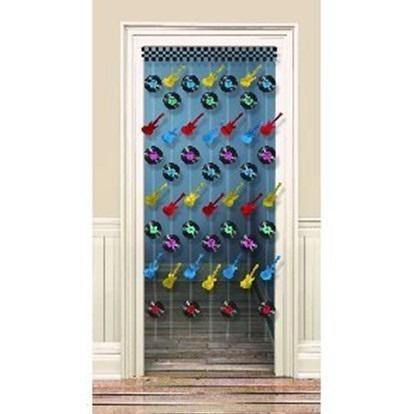 Rock N Roll Doorway Curtain