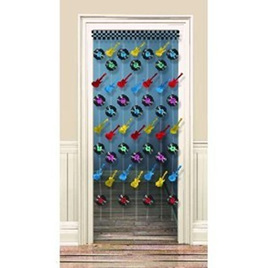 Rock N Roll Doorway Curtain