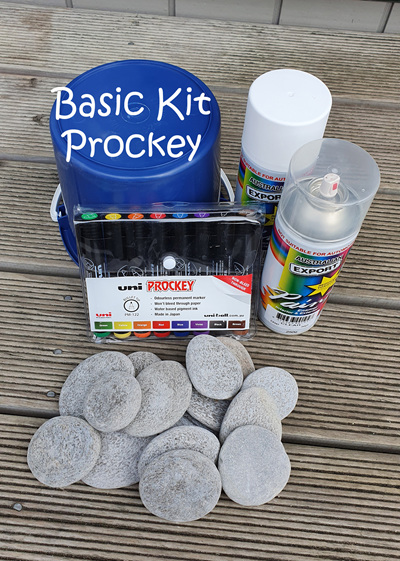 Rock Painters Starter Kits