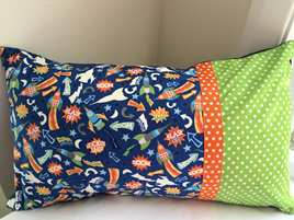 Rockets Cushion with Feather Inner