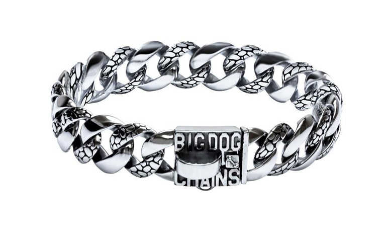 Rocky Large Strong Dog Collar by Big Dog Chains
