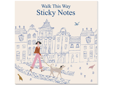 Roger La Borde Walk this Way Sticky Notes