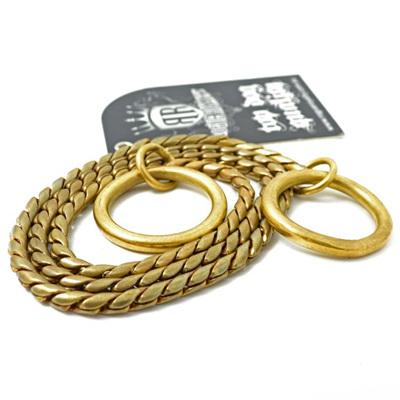 Brass Snake Slip Chain