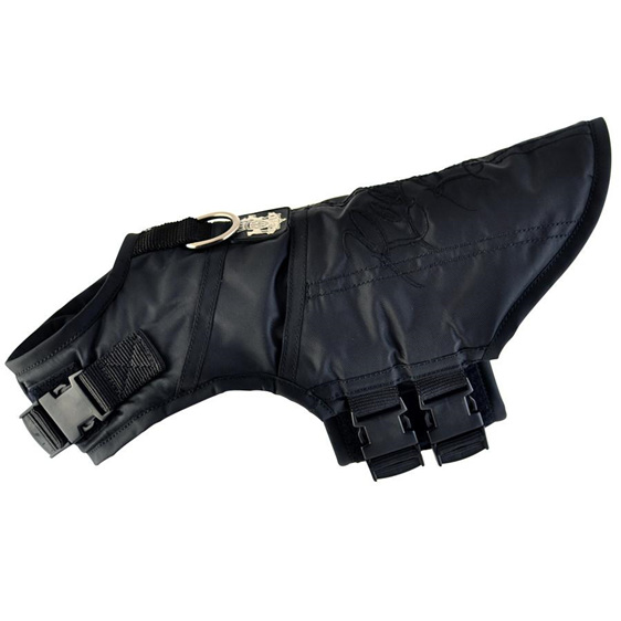 Rogue Royalty Dog Jacket Coat in Black