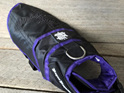 Rogue Royalty Dog Jacket Coat in Black & Purple