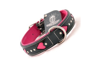 Rogue Royalty Queen of Hearts Leather & Diamante Collar