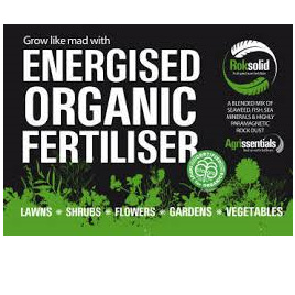 Roksolid Energised Organic Fertiliser - 20kg