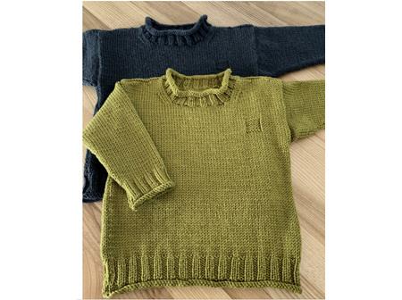 Rolled Edge Knitting Pattern