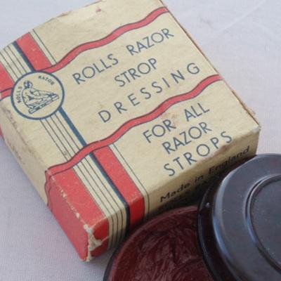 Rolls razor strop dressing