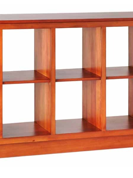 Roma Long Bookcase
