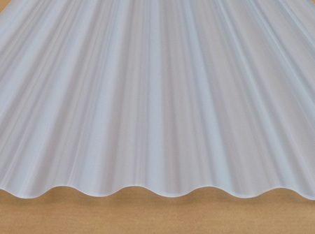Romalite OPAL roofing sheets 2.4m