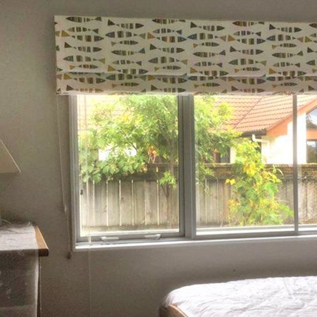 Roman Blinds with Fun