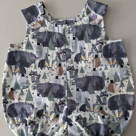 Rompers  Forest Animals 0-12 Months