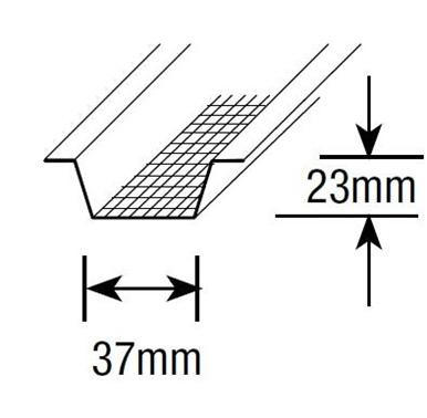 Rondo  Screwfix Furring Channel - 3.6m