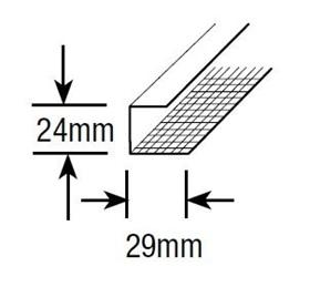 Rondo Screwfix Perimeter Channel 3.6m