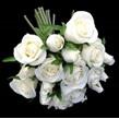 Rose bouquet cream 1496
