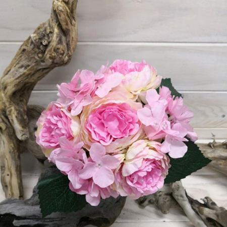 Rose and hydrangea posy 4137