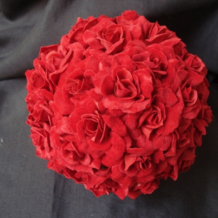 Rose Ball Red 1265