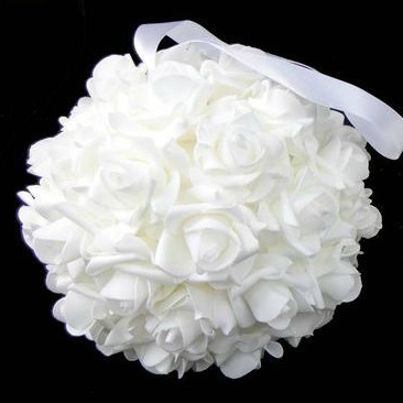 Rose ball white 1957