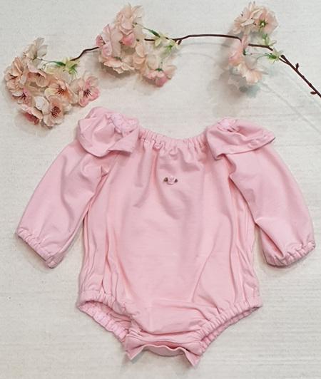 Rose Bodysuit - Pink
