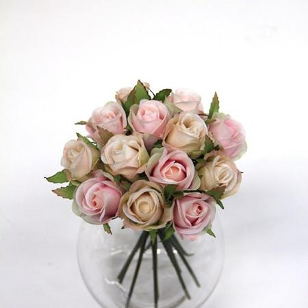 Rose Bud Posy Pink  4470
