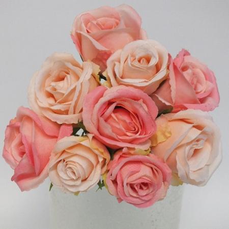 Rose Bud Posy Pink mix 1909