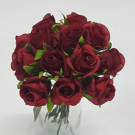 Rose Bud Posy red 4469